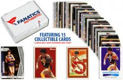 Pete Maravich Utah Jazz Collectible Lot of 15 NBA Trading Cards - Mounted Memories