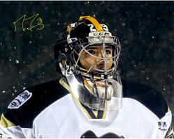 "Marc-Andre Fleury Pittsburgh Penguins Autographed Stadium Series 16"" x 20"" Photograph"
