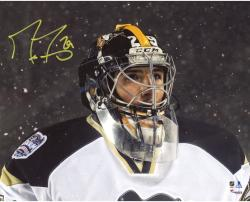 "Marc-Andre Fleury Pittsburgh Penguins Autographed Stadium Series 8"" x 10"" Photograph"