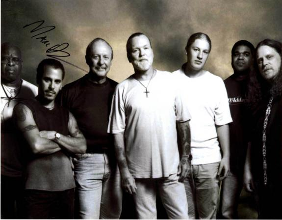 Marc Quinones The Allman Brothers Autographed Signed 11x14 Photo AFTAL UACC RD
