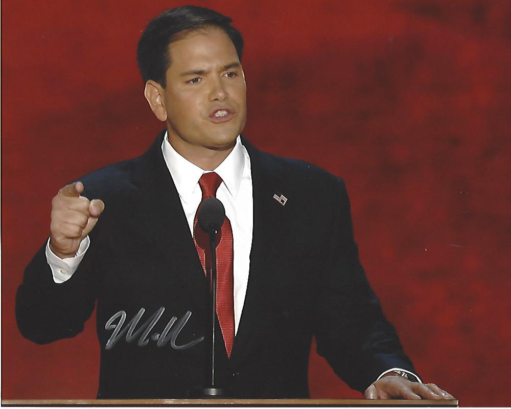 MARCO RUBIO - SENATOR from FLORIDA - Previously Served as SPEAKER of ...