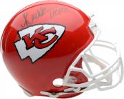 Marcus Allen Kansas City Chiefs Autographed Riddell Mini Helmet with HOF Inscription