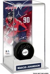 Marcus Johansson Washington Capitals Deluxe Tall Hockey Puck Case