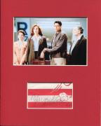 Margaret Colin Independence Day Signed Autograph Photo Display W/ Jeff Goldblum