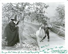 """MARGARET HAMILTON as MISS GULCH/Tht WICKED WITCH of the WEST in """"THE WIZARD of OZ"""" Passed Away 1985 - Signed 10x8 B/W Photo - Inscribed to a Fan"""