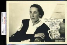 Margaret Hamilton Jsa Hand Signed Wizard Of Oz 5x7 Photo Authenticated Autograph