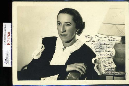 Margaret Hamilton Jsa Hand Signed Wizard Of Oz 5x7 Photo Authenticated Autograph