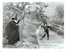 Margaret Hamilton Signed Wizard of Oz Authentic Autographed 8x10 Photo PSA/DNA
