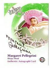 Margaret Pellegrini Munchkin Autographed-signed Wizard Of Oz Trading Card