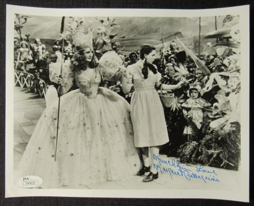 Margaret Pelligrini Wizard Of Oz Signed Auto Autograph 8x10 Photo JSA U44619