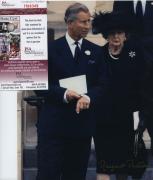 Margaret Thatcher Signed Autographed 8x10 Photo Jsa Spence Coa