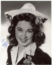 MARGIE STEWART HAND SIGNED 8x10 PHOTO+COA     WORLD WAR II ARMY POSTER GIRL