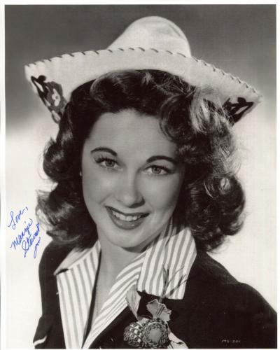 MARGIE STEWART HAND SIGNED 8x10 PHOTO+COA     WORLD WAR II ARMY POSTER GIRL