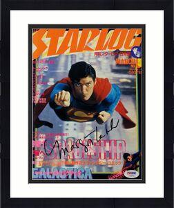 MARGOT KIDDER Signed Japanese Starlog Superman Cover Magazine Auto PSA Y48850