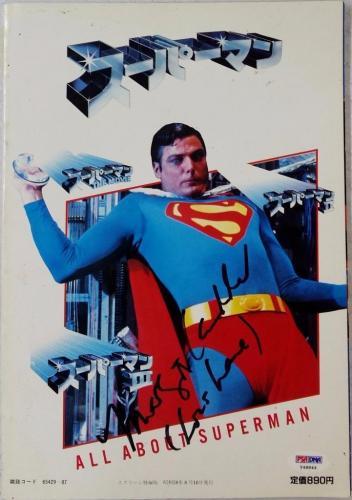 "MARGOT KIDDER ""Lois Lane"" Signed Superman Magazine Cover w/ PSA/DNA COA #Y48844"