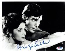 Margot Kidder Signed Superman Autographed 8x10 B/W Photo PSA/DNA #W62463