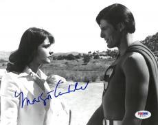 Margot Kidder Signed Superman Autographed 8x10 B/W Photo PSA/DNA #W71271