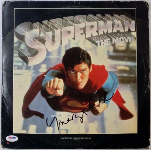 Margot Kidder Signed Superman The Movie Laser Disc PSA/DNA Y48843 Auto Autograph