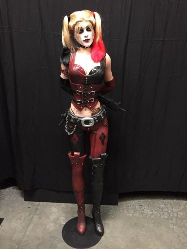 Margot Robbie Signed Harley Quinn 1:1 Scale Life Size NECA Figure/Statue BAS/PSA