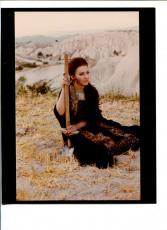 Maria Callas Greek Soprano Opera Singer Color Photo