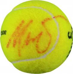 Maria Sharapova Autographed Australian Open Logo Tennis Ball