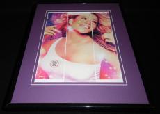 Mariah Carey 2004 Glitter Framed 11x14 Photo Display