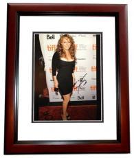 Mariah Carey Autographed 11x14 Photo MAHOGANY CUSTOM FRAME