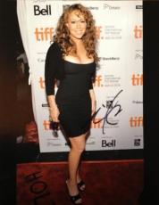 Mariah Carey Autographed 11x14 Photo