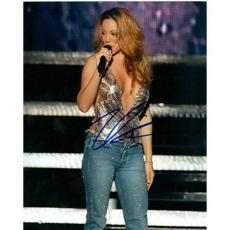 Mariah Carey Autographed 8x10 Photo