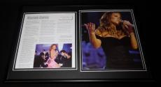 Mariah Carey Framed 12x18 Photo Display