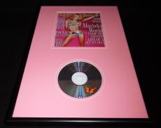 Mariah Carey Framed 12x18 Rolling Stone Cover & Rainbow CD Display