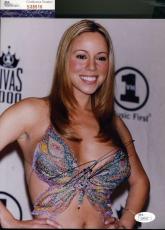 Mariah Carey Jsa Coa Hand Signed 8x10 Photo Authentic Autograph