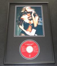 Mariah Carey SEXY Lingerie Framed 12x18 CD & Photo Display