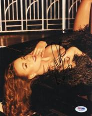Mariah Carey Sexy Signed 8X10 Photo Autograph PSA/DNA #G77957