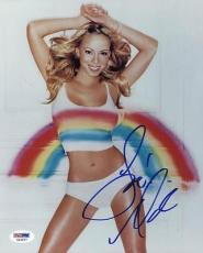 Mariah Carey Sexy Signed 8x10 Photo Autographed Psa/dna #x44527