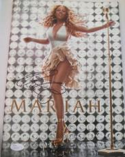 Mariah Carey Signed Adventures of Mimi Tour Book Magazine w/JSA COA Q30573
