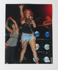 Mariah Carey Signed Authentic Autographed 11x14 Photo (PSA/DNA) #J03590