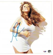 Mariah Carey Signed Authentic Autographed 12x12 Calendar Page PSA/DNA #S99629