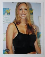 Mariah Carey Signed Authentic Autographed 8x10 Photo (PSA/DNA) #J64964