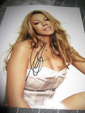 MARIAH CAREY SIGNED AUTOGRAPH 11x14 PHOTO SEXY PROMO EMANCIPATION OF MIMI COA E