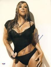 MARIAH CAREY Signed Autographed 11x14 Photo PSA/DNA #AB15110