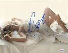 MARIAH CAREY Signed Autographed 11x14 Photo PSA/DNA #AB68391