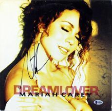 Mariah Carey Signed Dreamlover Album Cover Autographed BAS #B18209