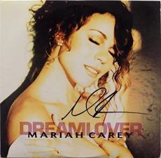 Mariah Carey Signed Dreamlover Record Album JSA