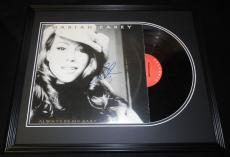 Mariah Carey Signed Framed 1995 Always Be My Baby Record Album Display