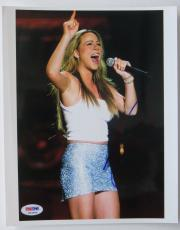 Mariah Carey Signed In Concert Authentic Autographed 8x10 Photo PSA/DNA #K03504