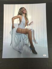 MARIAH CAREY SIGNED RAINBOW 'VERY SEXY' 16x20 PHOTO PSA/DNA COA