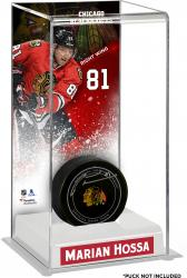 Marian Hossa Chicago Blackhawks Deluxe Tall Hockey Puck Case