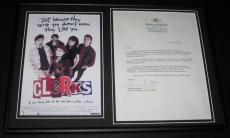 Marilyn Ghigliotti Signed Framed 2005 Letter & Clerks Photo Display