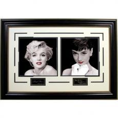 Marilyn Monroe & Audrey Hepburn Photo